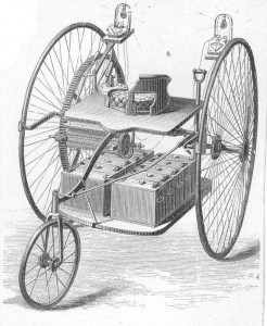 gustave trouvé electric car